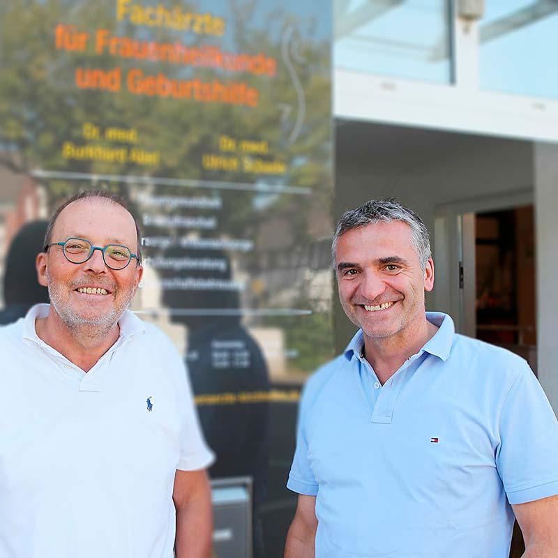 Dr. med Burkhard Abel, Dr. med. Ullrich Schade